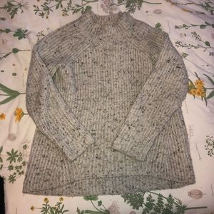 Madewell Donegal Mockneck Sweater